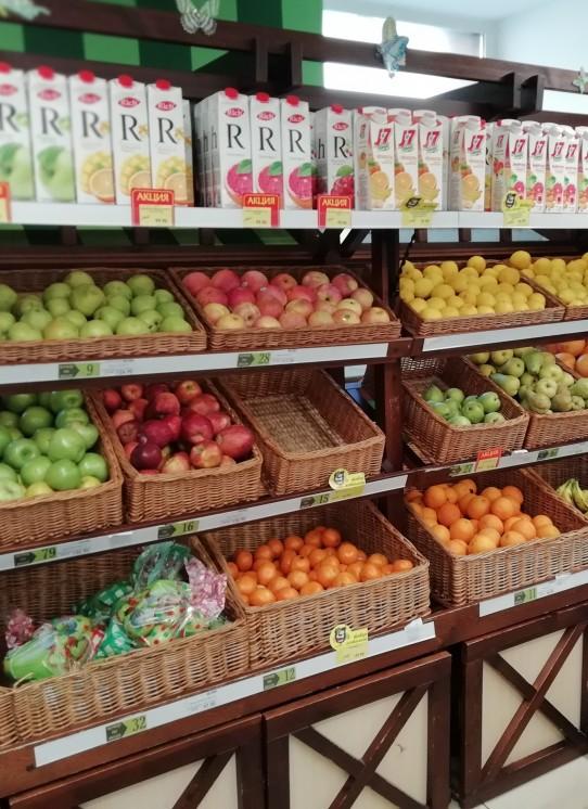 Стеллаж для фруктов